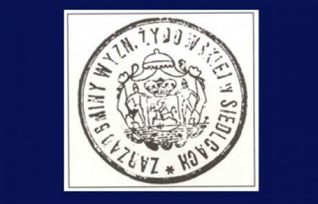 Itzhak Caspi: Siedlce – a metropolice of Israel