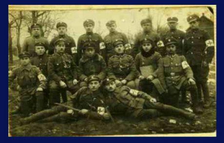 During World War I